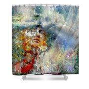 Angels In Heaven Shower Curtain