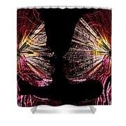 Angels Inside Shower Curtain