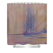 Angels Of Revival 1 Shower Curtain