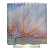 Angels Of Revival Ps 104 4 Shower Curtain