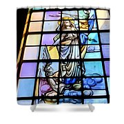 Angels On Cloud Shower Curtain