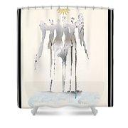 Angels Series - Angelika Shower Curtain
