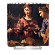 Angels Singing Shower Curtain