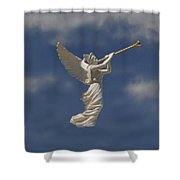 Angels Trumpet Shower Curtain