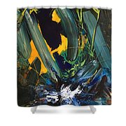 Anger And Bad Temper Shower Curtain