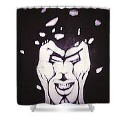 Anger The Break Up Shower Curtain