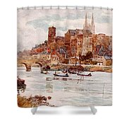 Angers  Shower Curtain