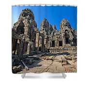 Angkor Thom Landscape Shower Curtain