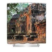 Angkor Wat Ruins - Siem Reap, Cambodia Shower Curtain
