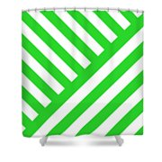 Angles Design With Your Custom Colors Shower Curtain by Mark E Tisdale
