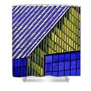 Angles In The Sky Shower Curtain