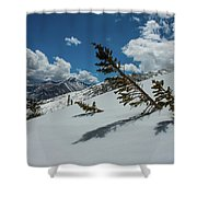 Angles Of The Mountain Shower Curtain