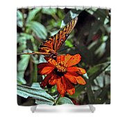 Angling For Food Shower Curtain