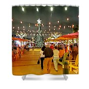 Anglin's Square Shower Curtain