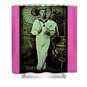 Anglo Sailor In China Ca 1890 Shower Curtain
