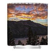 Angora Ridge Sunset 9 Shower Curtain