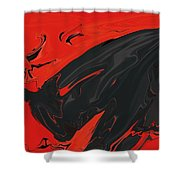 Angry Bull 2 Shower Curtain