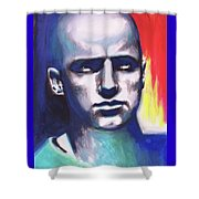 Angry Young Man Shower Curtain