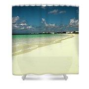 Anguilla - Beach  Shower Curtain