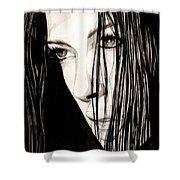 Anguish #5 Shower Curtain