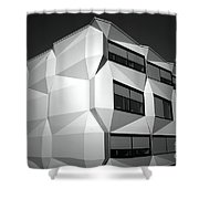 Angular Architecture Shower Curtain