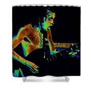 Angus Art Shower Curtain