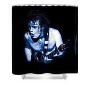 Angus Rocks Spokane Shower Curtain