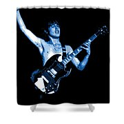 Angus The Rocker 1978 Shower Curtain