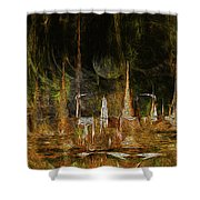 Animals I. Shower Curtain