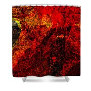 Animus Shower Curtain
