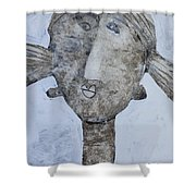 Animus No. 93 Shower Curtain