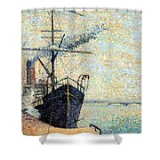 Ankerplaats 1885 Shower Curtain
