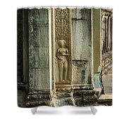 Ankgor Wat  Apsaras Shower Curtain