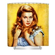 Ann-margert, Vintage Hollywood Actress Shower Curtain