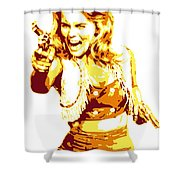 Ann Margret Shower Curtain