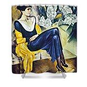 Anna Akhmatova (1889-1967) Shower Curtain