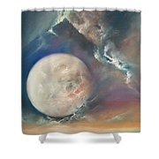 Anna Maria Moonset Shower Curtain