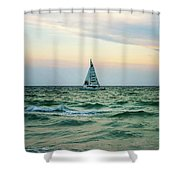 Anna Marie Island Shower Curtain