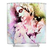 Anna Pavlova Whimsical Ballerina Shower Curtain