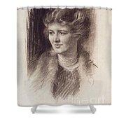 Anna R. Mills Shower Curtain