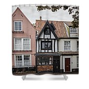 Anna Sewell's House In  Great Yarmouth Shower Curtain