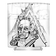 Anna Tylkina Shower Curtain