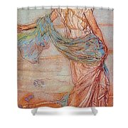 Annabel Lee James Abbott Mcneill Whistler Shower Curtain