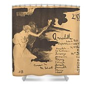 Annabella ('tis Pity She's A Whore) Shower Curtain