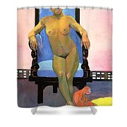 Annah The Javanese Shower Curtain