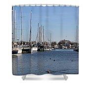 Annapolis - Harbor View Shower Curtain