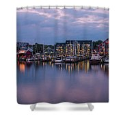 Annapolis Early Morn Shower Curtain