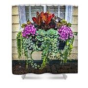 Annapolis Flower Box Shower Curtain
