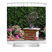 Annapolis Garden Ornament Shower Curtain