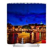 Annapolis Magic Night Shower Curtain